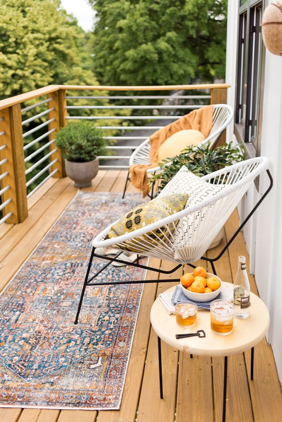 THE MOST POPULAR BALCONY DECORATION FOR GIRLS